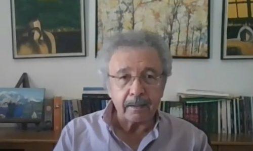 محاضرة مع الروائي إبراهيم نصر الله